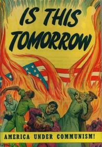 1950s Anti-Communist Poster